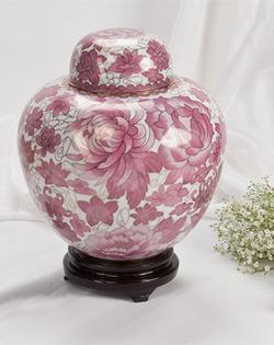 Rose Copper Cloisonne